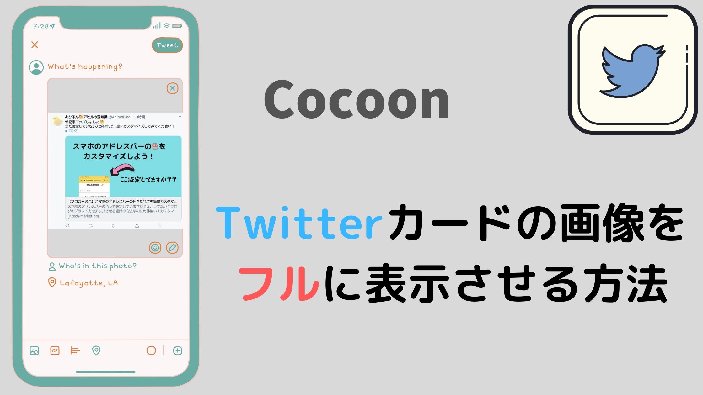 Twitterカードの画像をフルに表示させる方法のアイキャッチ