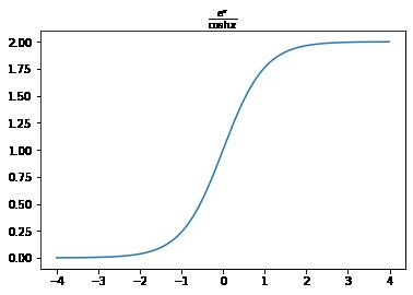 タイトルにLaTexを使用したグラフ